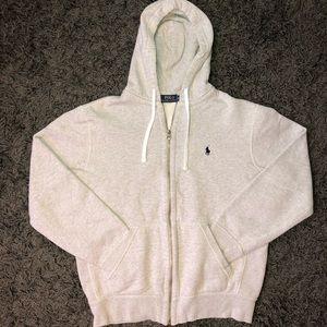Men's Gray Polo Sweatsuit